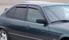 Дефлекторы окон для BMW 5 E34 '88-96, универсал (Cobra)