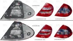 Фонарь задний для Mercedes W211 '06-09 Е-Class правый (DEPO) Avangarde, Led 2118202664