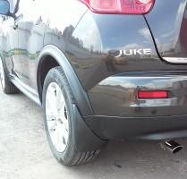 Брызговики задние для Nissan Juke '10-14 (Lada Locker)