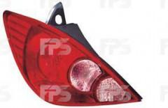 Фонарь задний для Nissan Tiida '05-14 хетчбек левый (DEPO) европ. версия