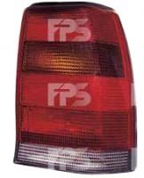 Фонарь задний для Opel Omega A '86-94 седан правый (DEPO) дымчатая вставка 442-1909R-UE-SR