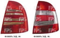Фонарь задний для Skoda Superb '02-06 левый (DEPO) 3U5945111