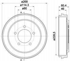 Тормозной барабан TEXTAR 94036300