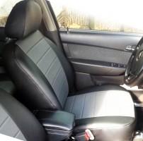 Авточехлы из экокожи L-LINE для салона Chevrolet Aveo '04-11 (AVTO-MANIA)