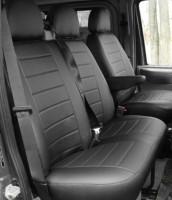 Авточехлы из экокожи L-LINE для салона Ford Transit '06-13 (1+2) (AVTO-MANIA)