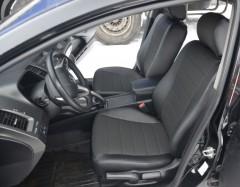 Авточехлы из экокожи L-LINE для салона Honda Civic 4D '06-12 (AVTO-MANIA)