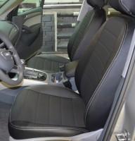 Авточехлы из экокожи S-LINE для салона Audi Q5 '08-17 (AVTO-MANIA)