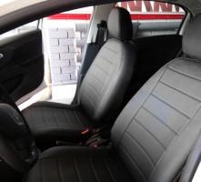 Авточехлы из экокожи S-LINE для салона Peugeot 301 '12- (AVTO-MANIA)