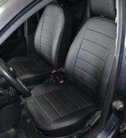 Авточехлы из экокожи S-LINE для салона Ford Fiesta '02-09 (AVTO-MANIA)