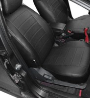 Авточехлы из экокожи X-LINE для салона ЗАЗ Forza '11- (AVTO-MANIA)