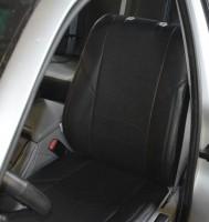 Авточехлы из экокожи X-LINE для салона BMW 5 E39 '96-03, седан, с цельной спинкой (AVTO-MANIA)