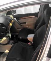 Авточехлы из экокожи X-LINE для салона Chevrolet Aveo '04-11 (AVTO-MANIA)