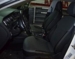 Авточехлы из экокожи X-LINE для салона Volkswagen Golf VII '12- (AVTO-MANIA)