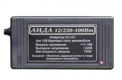 Инвертор / преобразователь напряжения импульсный АИДА 12/220-100Вт