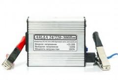 Инвертор / преобразователь напряжения импульсный АИДА 24/220-300Вт
