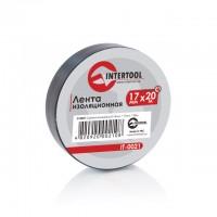 Изолента 20м черная IT-0021 (Intertool)
