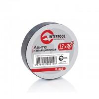 Изолента 25м черная IT-0026 (Intertool)