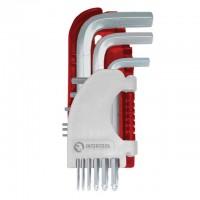Набор Г-образных шестигранных ключей PROF с шарообразным наконечником HT-1813 (Intertool)