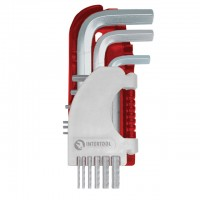 Набор Г-образных шестигранных ключей Small HT-1801 (Intertool)
