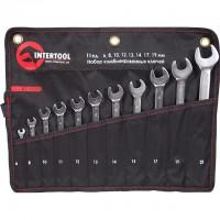 Набор комбинированных ключей 11шт XT-1003 (Intertool)