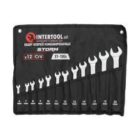Набор комбинированных ключей 12шт XT-1004 (Intertool)