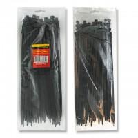 Хомуты пластиковые, черные, 2.5x150 мм. TC-2516 - 100 шт. (Intertool)