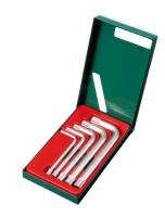 Ключ угловой  HANS TORX комплект 5 предметов. 12-гран.