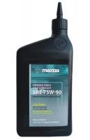 Масло трансмиссионное Mazda Front Axle Lubricant 75w-90 (0000-77-5W90-QT), 1 л.