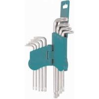 Ключ угловой HANS TORX комплект 9 предметов