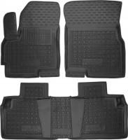Коврики в салон для Chery Tiggo 5 '16- резиновые, черные (AVTO-Gumm)