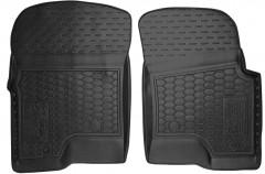 Коврики в салон передние для Ford F-150 2004 - 2008 резиновые, черные (AVTO-Gumm)