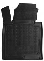 Коврик в салон водительский для Kia Optima '16- резиновый, черный (AVTO-Gumm)