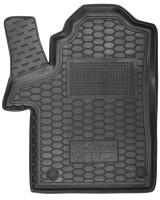 Коврик в салон водительский для Mercedes V-Class W447 '14- резиновый, черный (AVTO-Gumm)