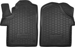 Коврики в салон для Mercedes V-Class W447 '14- резиновые, черные (AVTO-Gumm)