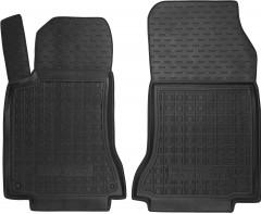 Коврики в салон передние для Mercedes CLA-Class '13- резиновые, черные (AVTO-Gumm)