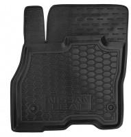 Коврик в салон водительский для Nissan Leaf '10-17 резиновый, черный (AVTO-Gumm)