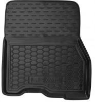 Фото 3 - Коврики в салон для Nissan Leaf '10-17 резиновые, черные (AVTO-Gumm)