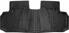 Фото 4 - Коврики в салон для Nissan Leaf '10-17 резиновые, черные (AVTO-Gumm)
