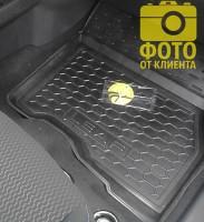 Фото 7 - Коврики в салон для Nissan Leaf '10-17 резиновые, черные (AVTO-Gumm)