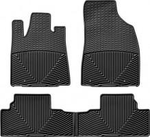 Коврики в салон для Lexus RX '09-12 черные, резиновые (WeatherTech)