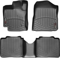 Коврики в салон для Toyota Venza '10-11 черные, резиновые 3D (WeatherTech)