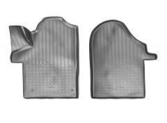 Коврики в салон для Mercedes V-Class W447 '14- полиуретановые, черные (Nor-Plast)