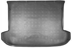 Коврик в багажник для Kia Sportage 2016 -, полиуретановый (NorPlast)