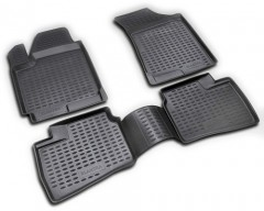 Коврики в салон для Hyundai Elantra HD '06-10 полиуретановые (Novline / Element) 3D