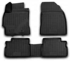 Коврики в салон 3D для Toyota Corolla '07-12 полиуретановые (Novline)