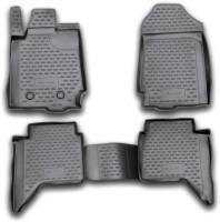 Коврики в салон для Ford Ranger T6 '11-, 4 дв., полиуретановые, черные (Novline / Element)