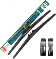 Щетки стеклоочистителя гибридные Alca Hybrid 600 и 480 мм. Side Pin (набор)