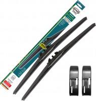Щетки стеклоочистителя гибридные Alca Hybrid 700 и 650 мм. Side Pin (набор)