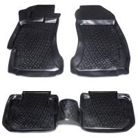 Коврики в салон для Subaru XV '11-16 полиуретановые (L.Locker)