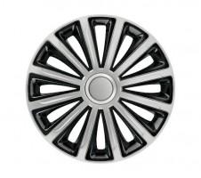 Колпаки на колеса R16 TREND silver&black (Elegant)